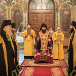 В праздник Обрезания Господня Наместник Лавры возглавил богослужения в Трапезном храме