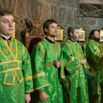У новорічну ніч Намісник Лаври звершив Божественну Літургію