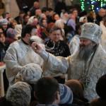 В Навечерие праздника Святого Богоявления в Лавре было совершено Великое освящение воды