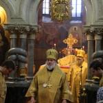 Митрополит Павел возглавил Литургию в древнем Кирилловском храме Киева