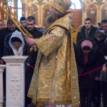 У свято Обрізання Господнього Намісник Лаври очолив богослужіння у Трапезному храмі
