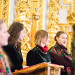 В Лавре состоялся V юбилейный Всеукраинский фестиваль колядок