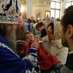 Митрополит Павел совершил богослужение в праздник Собора Пресвятой Богородицы