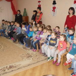 Дошколят с великими православными праздниками поздравили священнослужители Лавры