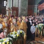 Наместник Лавры почтил память свт. Феодосия Черниговского перед мощами святого в 320-летие со дня его преставления