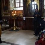 В Лавре для гостей в инвалидных колясках провели паломническую экскурсию