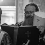 Чин пасії з читанням Акафісту Страстям Христовим очолив Намісник обителі