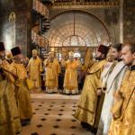 В Лавре традиционно был совершен общий чин прощения в Трапезном храме