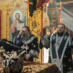 Митрополит Павел совершил первую в году Литургию свт. Григория Двоеслова