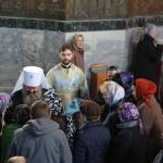 В Лавре были совершены богослужения Похвалы Пресвятой Богородицы