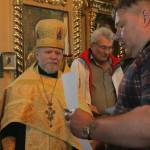 Ветераны ликвидации последствий Чернобыльской катастрофы были награждены от имени Наместника Лавры