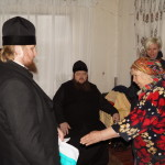 В пам'ять про 30-річчя Чорнобильської катастрофи гості з Лаври і волонтери відвідали жителів зони відчуження
