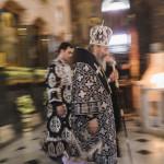 Наместник Лавры сослужил Предстоятелю на утрене в Четверток Великого канона
