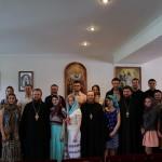 На молодежной встрече рассказывали о церковной жизни православных на Западе