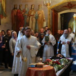 Отпевание постриженика Лавры совершил Наместник обители