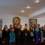 Очередную молодежно-просветительскую встречу в Фомину Неделю провели насельники Лавры