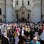 В Понедельник Светлой седмицы Наместник Лавры возглавил Литургию в Великой церкви
