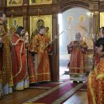 Насельники Києво-Печерської Лаври брали участь в заупокійних богослужіннях по колишньому наміснику обителі архим. Елевферію