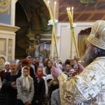 В день памяти святых равноапостольных Кирилла и Мефодия митрополит Павел совершил Литургию