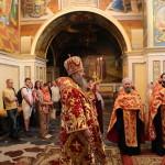 Наместник Лавры совершил акафистное пение Воскресению Христову