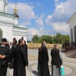 На Радоницу насельники Лавры молились об упокоении почившей братии