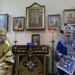 У престольне свято Намісник Лаври звершив Божественну Літургію в скиту обителі