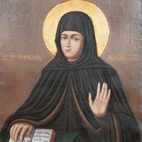 Прп. Єфросинія, ігуменя Полоцька (1173)