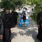 Намісник Лаври співслужив Предстоятелю в стародавньому монастирі Рівненської єпархії