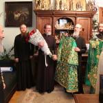 Блаженнішого Митрополита Онуфрія привітали з днем небесного покровителя Намісник і Духовний собор Лаври
