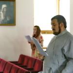 На молодіжній зустрічі говорили про справи милосердя на прикладі житія сщмч. Володимира (Богоявленського)