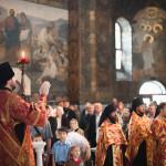 Намісник Лаври очолив богослужіння віддання Пасхи