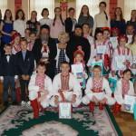 В дитячому будинку «Малятко» з творчим візитом і гостинцями побували гості з Лаври