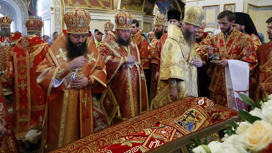 В Лавре почтили память священномученика Владимира, Митрополита Киевского и Галицкого (видео)
