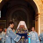Наместник возглавил акафистное пение Успению Пресвятой Богородицы