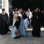 Намісник Лаври прибув на Гору Афон з делегацією УПЦ на чолі з Предстоятелем
