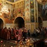 Митрополит Павел совершил чтение Акафиста святой великомученице Варваре