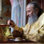 В день памяти всех святых, на Руси просиявших Наместник Лавры сослужил Предстоятелю УПЦ