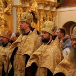 Намісник Лаври співслужив Предстоятелю УПЦ у день пам'яті св. княгині Ольги