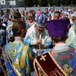 Наместник Лавры возглавил торжества Днепродзержинской епархии
