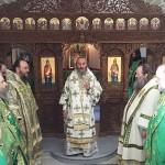 Наместник Лавры прибыл на Гору Афон с делегацией УПЦ во главе с Предстоятелем