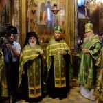 Наместник Лавры почтил память преподобного Сергия Радонежского