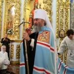 В день Преображения Господнего Наместник Лавры сослужил Предстоятелю УПЦ