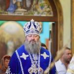 Наместник Лавры возглавил богослужение в Введенском монастыре столицы