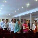 Молодежная встреча была посвящена Печерской обители