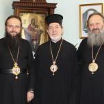 Митрополит Павел встретился с архиереем из Латинской Америки