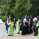 В первый день учебного года Предстоятель УПЦ возглавил богослужения в Лавре