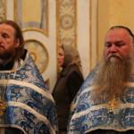 Наместник Лавры возглавил акафистное пение Успению Богоматери