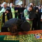 У перший день навчального року Предстоятель УПЦ очолив богослужіння в Лаврі