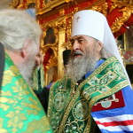 On the first day of the school year, the Primate of the Ukrainian Orthodox Church (UOC) led the divine services in the Lavra