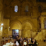 The Holy Sepulchre: Mitropolitan Pavel celebrated the night Liturgy